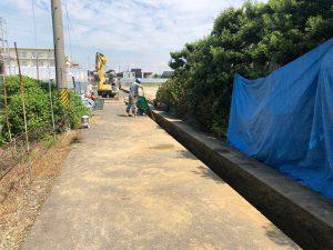 桜井町水道工事