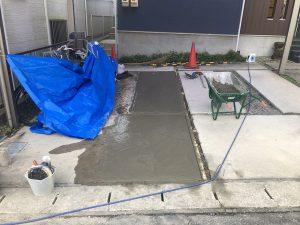 下水道切替工事が順調に進んでいます