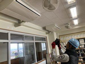 東部小学校空調設置