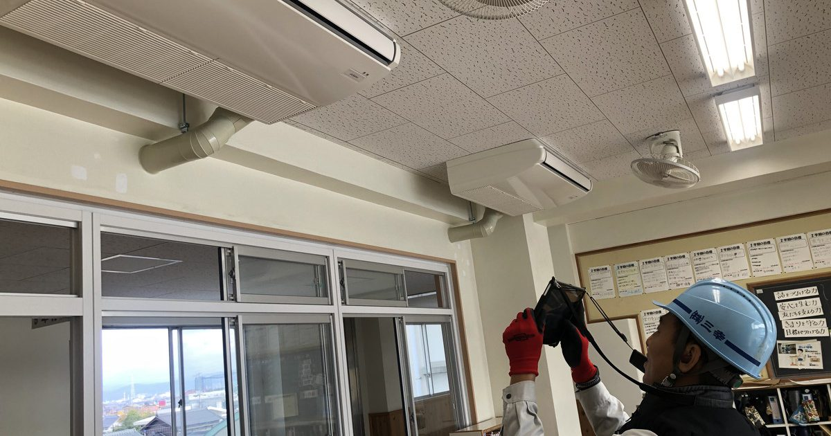 東部小学校空調施設工事