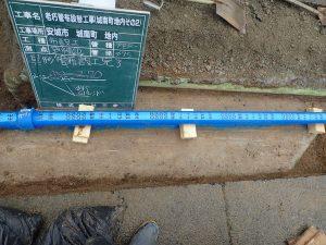 給水管の配管