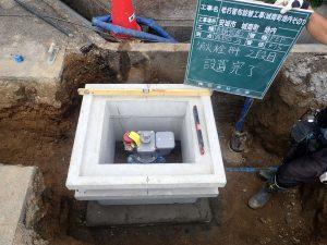 消火栓設置工事城南町