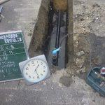 水圧試験の結果
